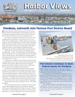 Ventura Port District's Summer newsetter