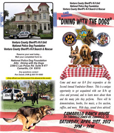 Dining with the Dogs Fundraiser 2012