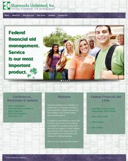 Shamrocks Unlimited website