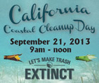 Coastal Cleanup Day 2013