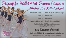 All American Ballet Summer Camps