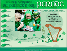 Ventura St. Patricks Day Parade Web Site