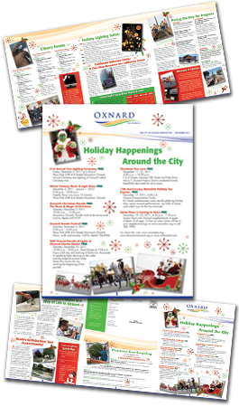 City of Oxnard's December 2011 newsletter