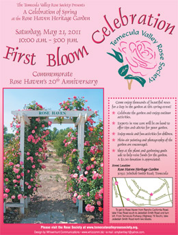 TVRS First Bloom Flyer