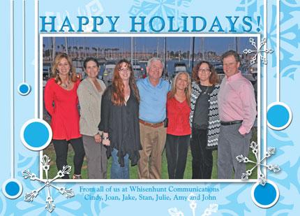 Whisenhunt Communications 2012 Holiday card