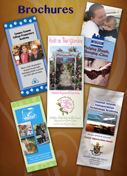 Brochures produced by Whisenhunt Communications