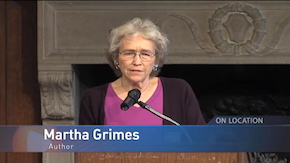 Mystery Writer Martha Grimes at the Strathmore