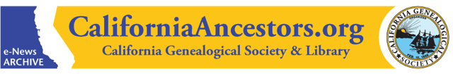 California Ancestors Banner 640