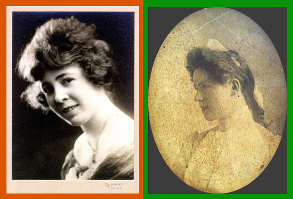 Helen Nimmo and Mary Fitzgerald