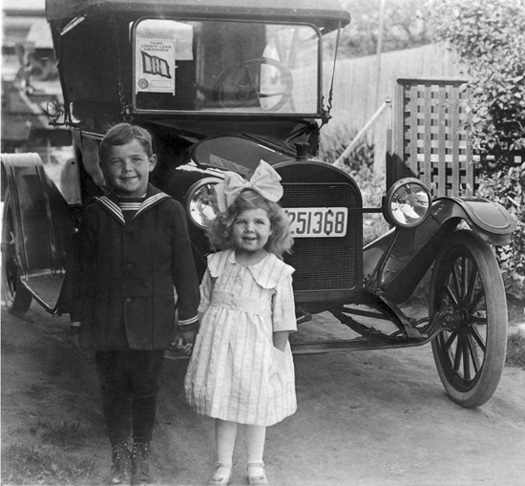 Robinson children 1918