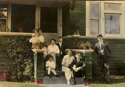 Robinson family front porch