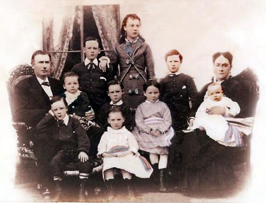 Patrick J. White and family