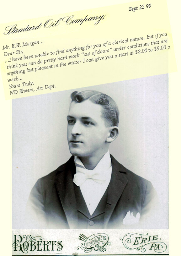 Earl Morgan and letter