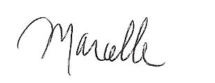 Marcelle White signature