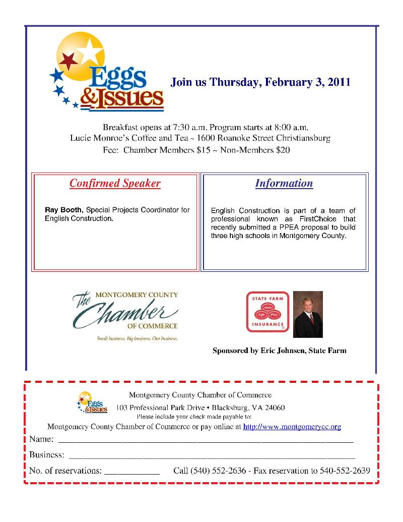 News from Montgomery County Chamber of Commerce