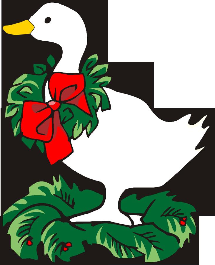 christmas goose clipart - photo #1