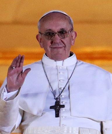 Pope Frances 1