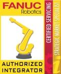 FANUC Certified Servicing Integrator Logo