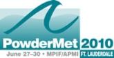 PowderMet 2010