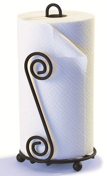 Scroll Towel Holder