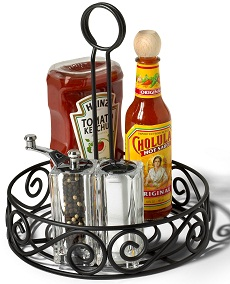 condiment stand
