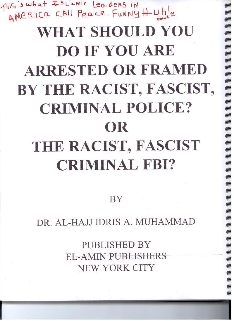 FBI Manual