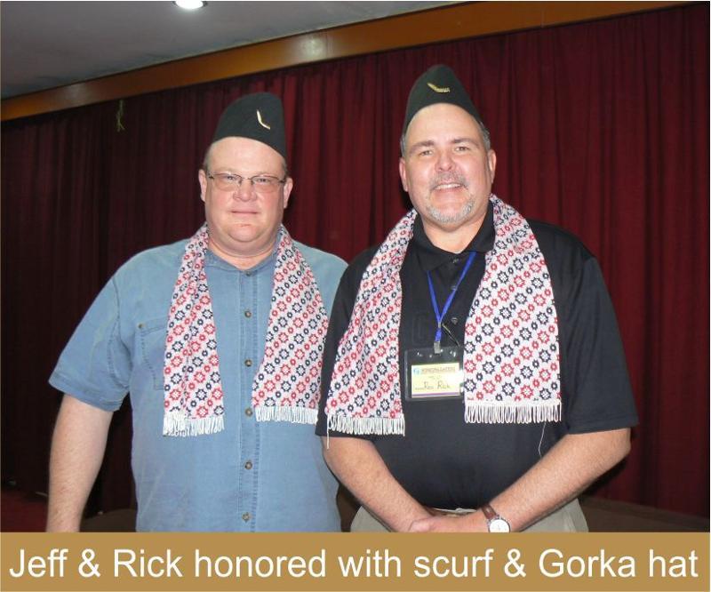 Jeff & Rick in Gorka hats