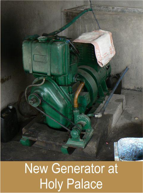 New Generator at Holy Palace