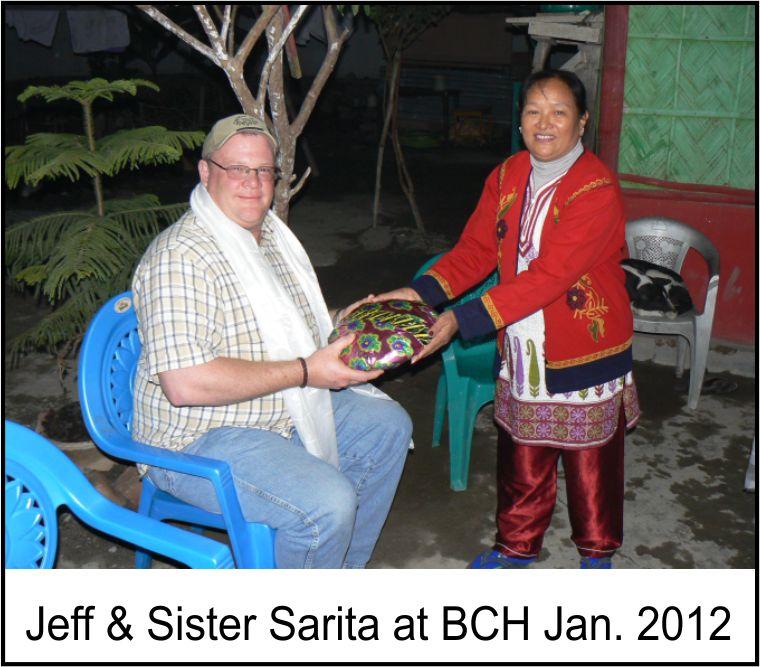 Jeff & Sister Sarita at BCH Jan. 2012