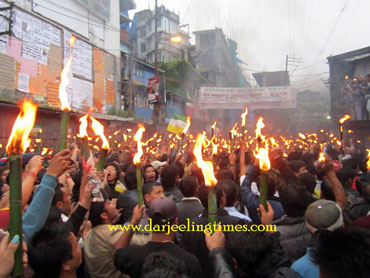 Bundh protesters