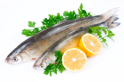 fish with lemon