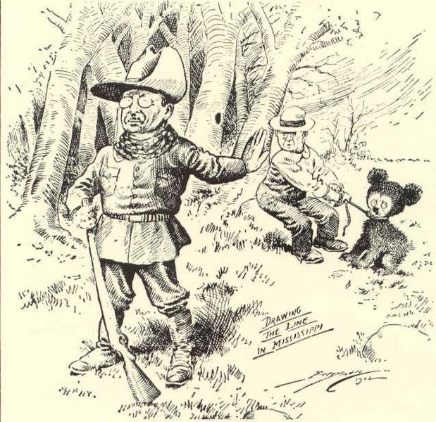 Teddy bear cartoon