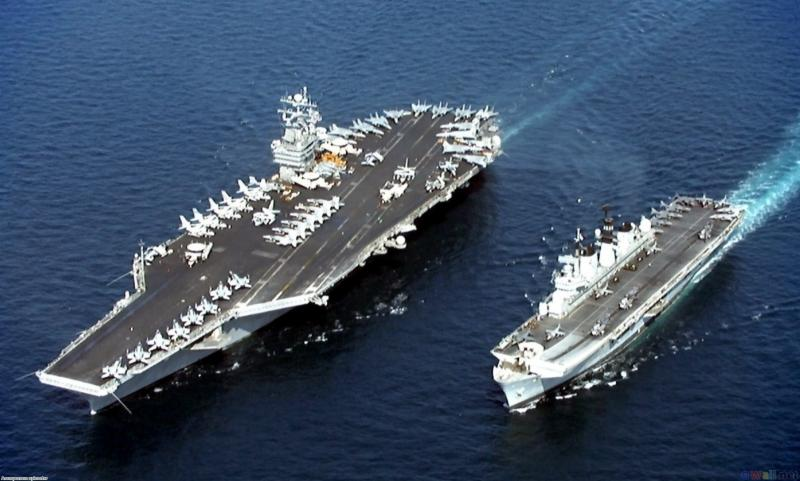 Navy Carrier Ships