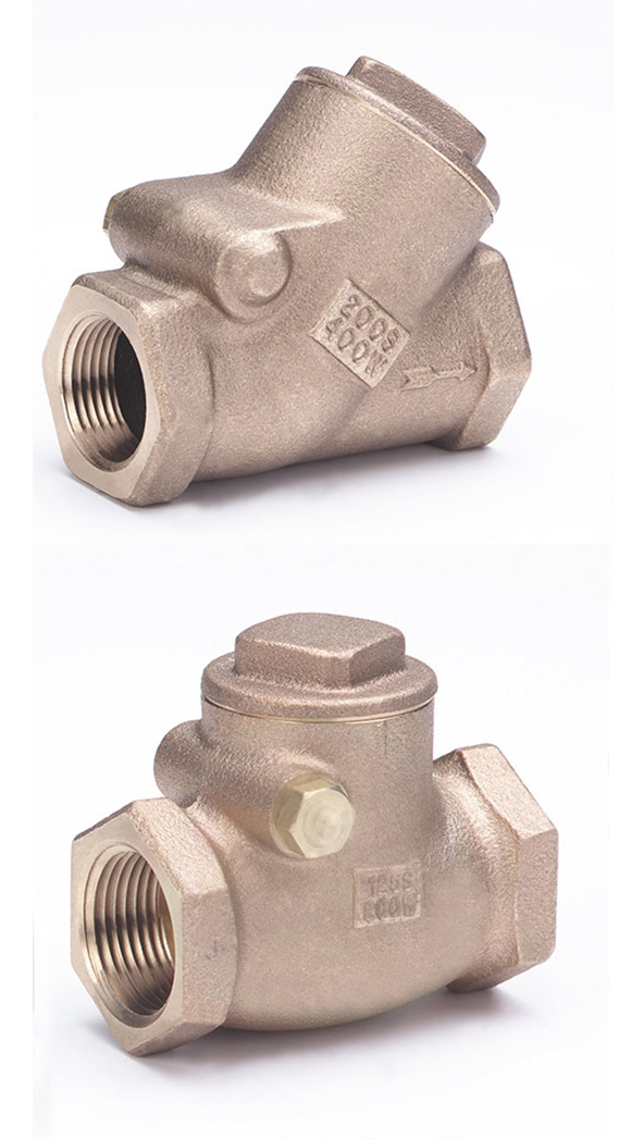 T & Y Pattern Check Valves