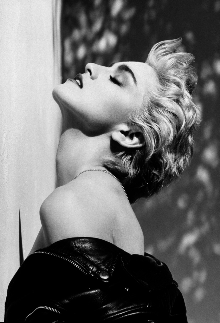 Herb Ritts_Madonna True Blue