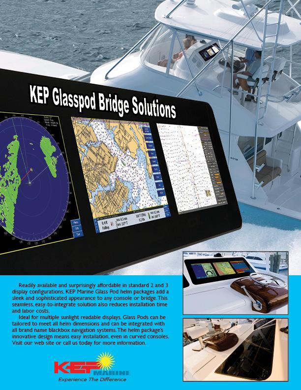 GlassPod Custom Bridge Solutions from KEP Marine