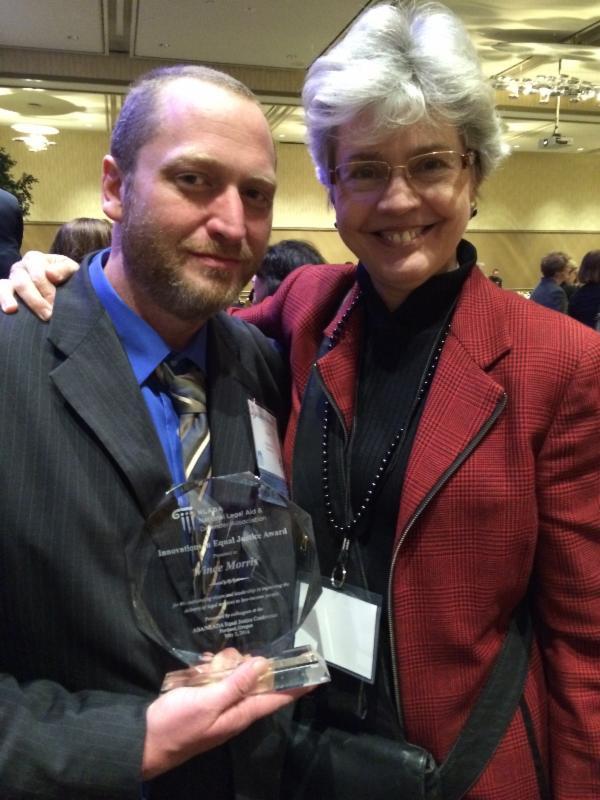 Vince NLADA Award