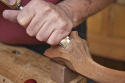 furniture making course using carving tools