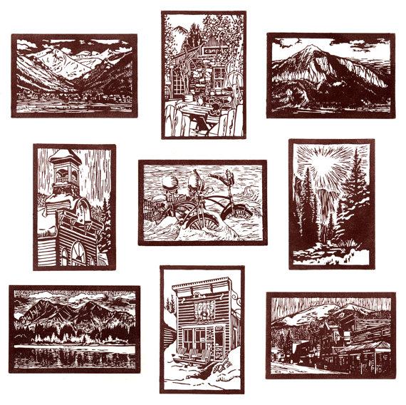 Nicholas Reti, Block Print Set