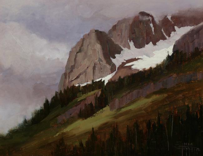 Linda Tippetts, Gothic Mountain Grays
