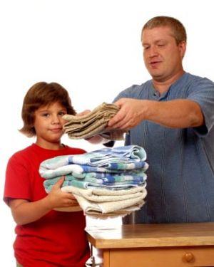 dad/child chore
