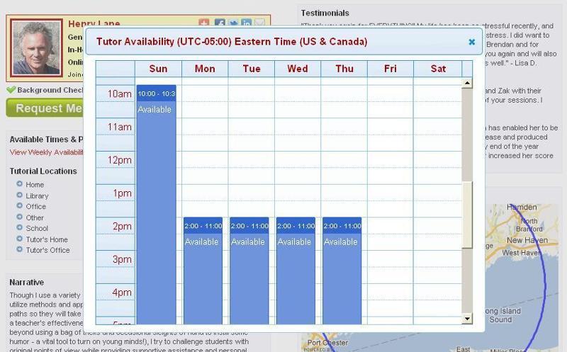 calendar Henry