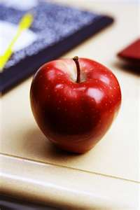 apple in school