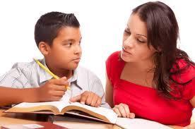 tutor helping