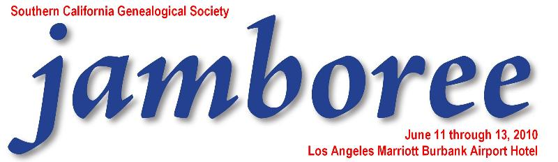 Southern California Genealogy Jamboree Logo