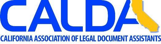 CALDA clear logo