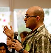 Symposium participant