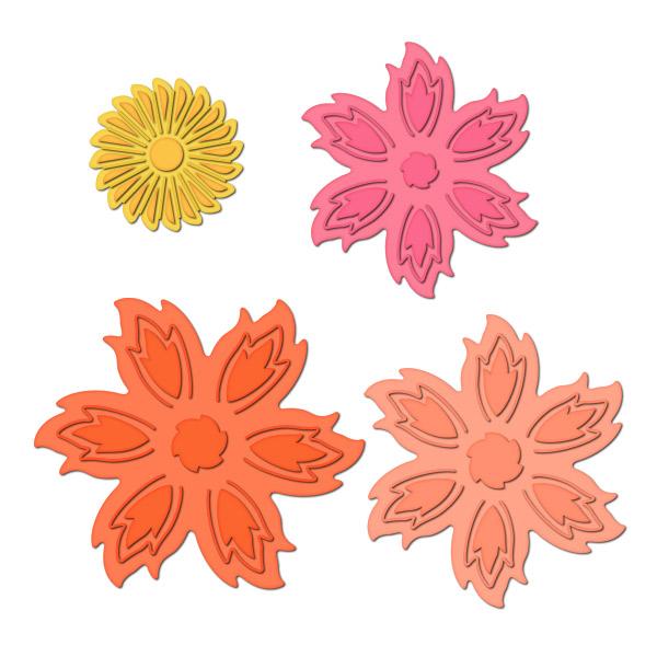 S5-102 Aster Flower Topper