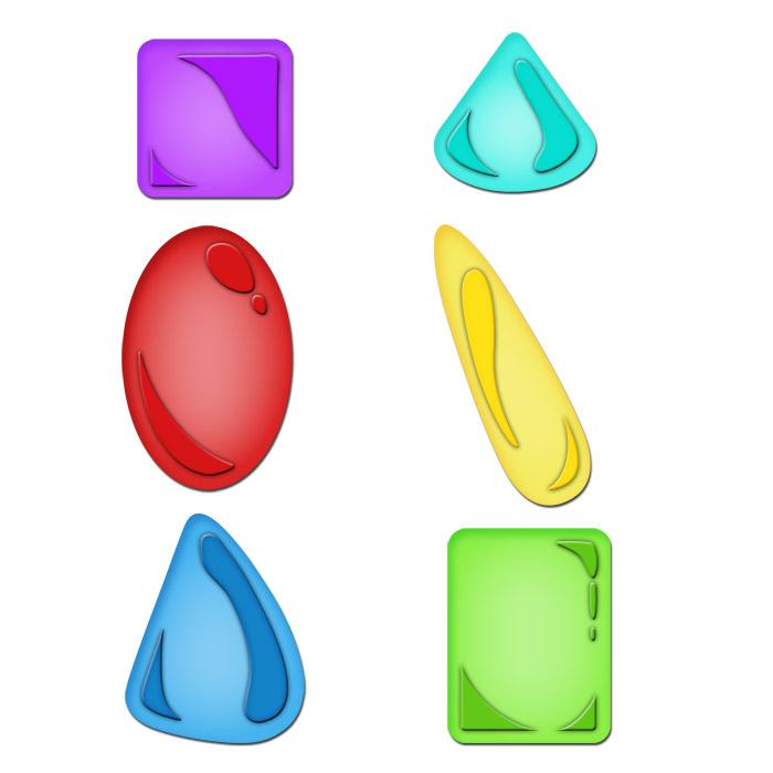 S5-098 Jewel Stones
