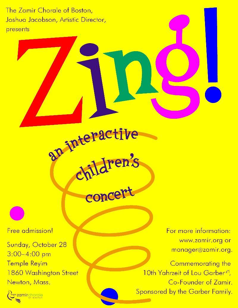 Zing flier